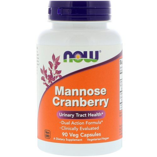 Now Foods, Mannose Cranberry, 90 Veg Capsules فوائد