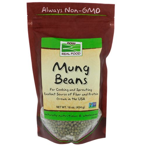 Now Foods, Mung Beans, 16 oz (454 g) فوائد