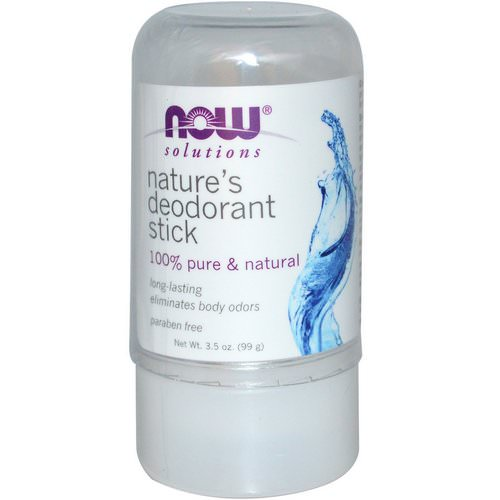 Now Foods, Nature's Deodorant Stick, 3.5 oz (99 g) فوائد