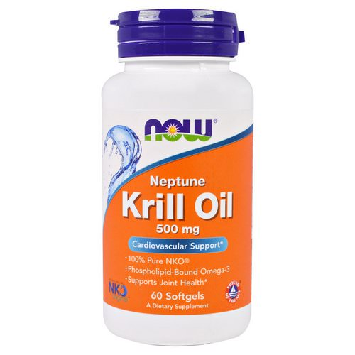 Now Foods, Neptune Krill Oil, 500 mg, 60 Softgels فوائد