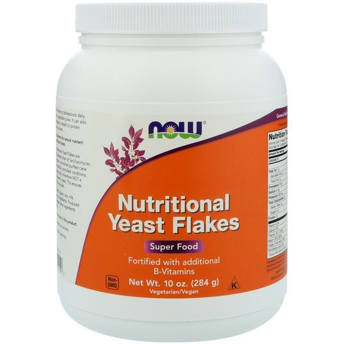 Now Foods, Nutritional Yeast Flakes, 10 oz (284 g) فوائد