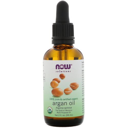 Now Foods, Organic Argan Oil, 2 fl oz (59 ml) فوائد