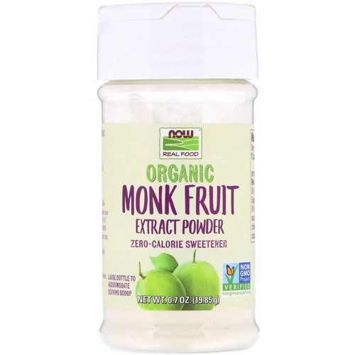 Now Foods, Organic Monk Fruit Extract Powder, 0.7 oz (19.85 g) فوائد