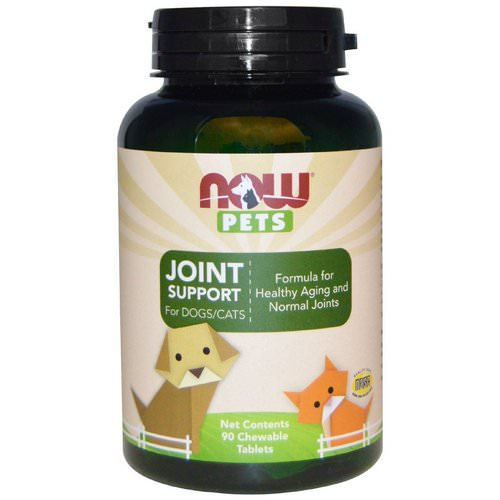 Now Foods, Pets, Joint Support for Dogs/Cats, 90 Chewable Tablets فوائد