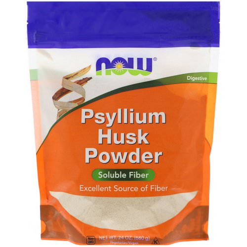 Now Foods, Psyllium Husk Powder, 1.5 lbs (680 g) فوائد
