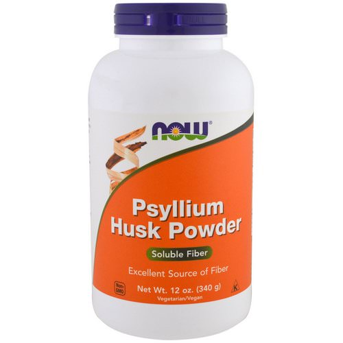 Now Foods, Psyllium Husk Powder, 12 oz (340 g) فوائد