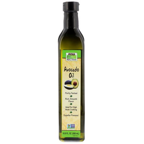 Now Foods, Real Food, Avocado Oil, 16.9 fl oz (500 ml) فوائد