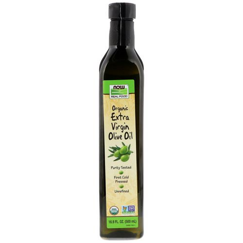 Now Foods, Real Food, Organic Extra Virgin Olive Oil, 16.9 fl oz (500 ml) فوائد