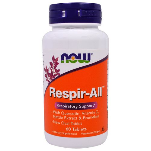 Now Foods, Respir-All, 60 Tablets فوائد