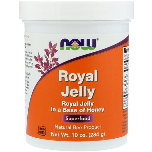 Now Foods, Royal Jelly, 10 oz (284 g) فوائد