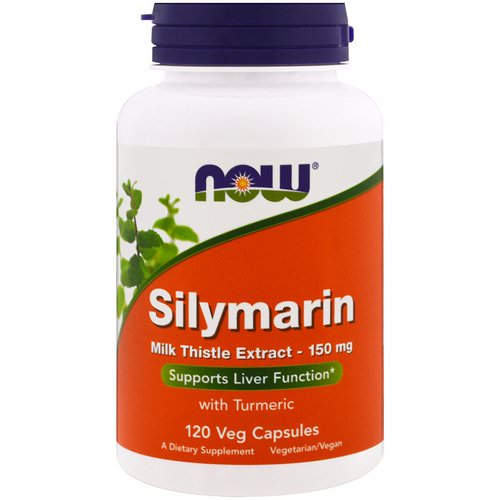 Now Foods, Silymarin, Milk Thistle Extract, 150 mg, 120 Veg Capsules فوائد