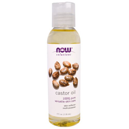 Now Foods, Solutions, Castor Oil, 4 fl oz (118 ml) فوائد