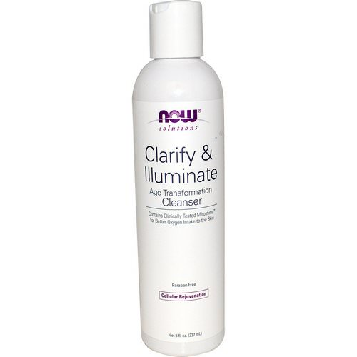 Now Foods, Solutions, Clarify & Illuminate Cleanser, 8 fl oz (237 ml) فوائد