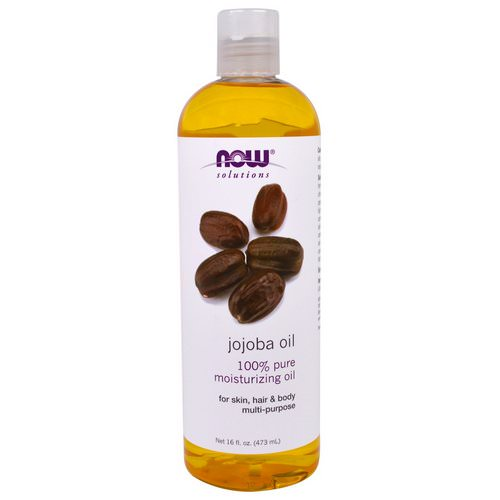 Now Foods, Solutions, Jojoba Oil, 16 fl oz (473 ml) فوائد