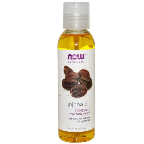 Now Foods, Solutions, Jojoba Oil, 4 fl oz (118 ml) فوائد