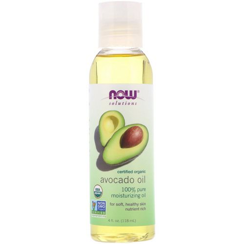 Now Foods, Solutions, Organic Avocado Oil, 4 fl oz (118 ml) فوائد