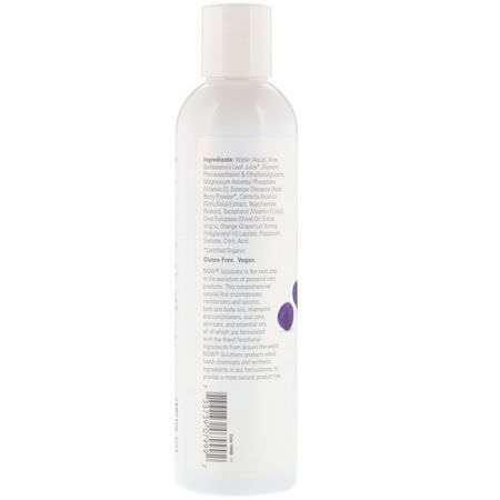 Now Foods, Solutions, Purifying Toner, Vitamin C & Acai Berry, 8 fl oz (237 ml):فيتامين C, أحبار