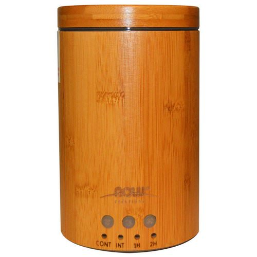 Now Foods, Solutions, Real Bamboo Ultrasonic Oil Diffuser, 1 Diffuser فوائد