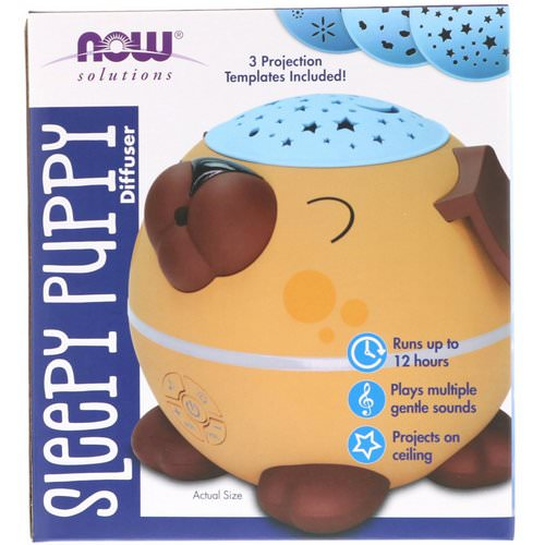 Now Foods, Solutions, Sleepy Puppy Diffuser فوائد