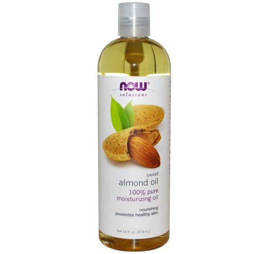 Now Foods, Solutions, Sweet Almond Oil, 16 fl oz (473 ml) فوائد