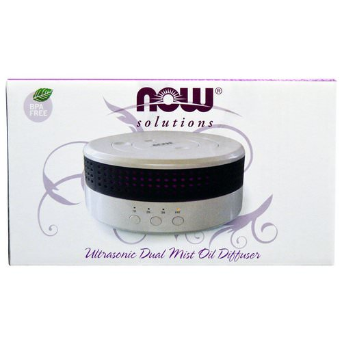 Now Foods, Solutions, Ultrasonic Dual Mist Oil Diffuser, 1 Diffuser فوائد