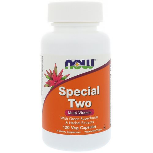 Now Foods, Special Two, Multi Vitamin, 120 Veg Capsules فوائد