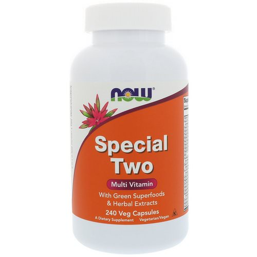 Now Foods, Special Two, Multi Vitamin, 240 Veg Capsules فوائد