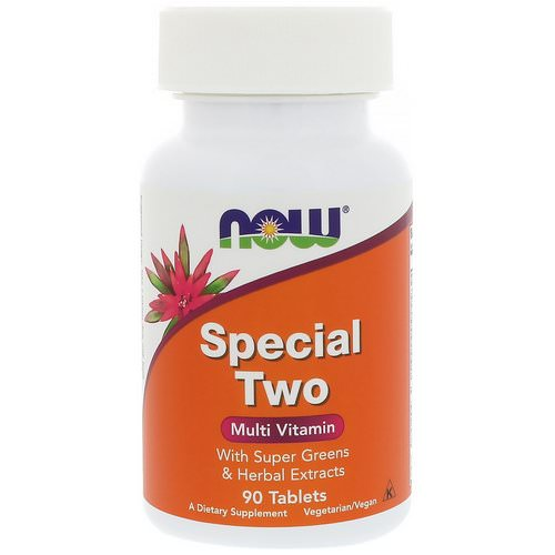Now Foods, Special Two, Multi Vitamin, 90 Tablets فوائد