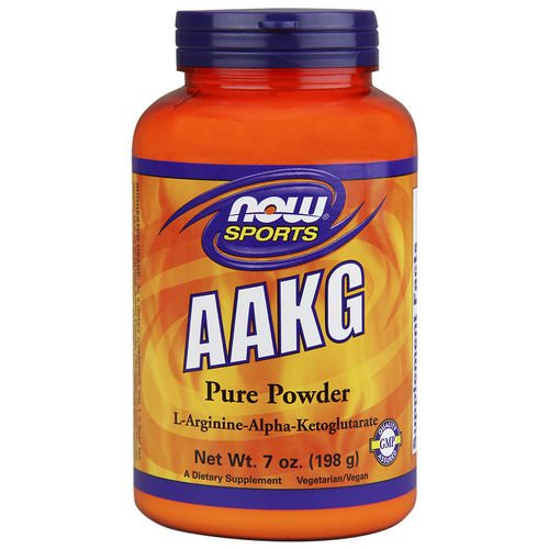 Now Foods, Sports, AAKG Pure Powder, 7 oz (198 g) فوائد