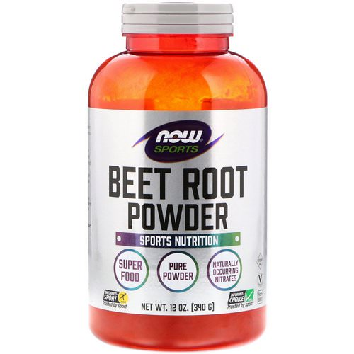 Now Foods, Sports, Beet Root Powder, 12 oz (340 g) فوائد