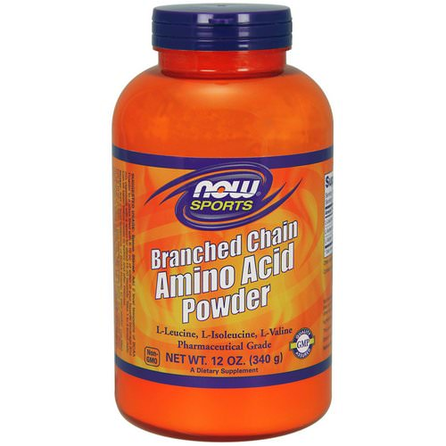 Now Foods, Sports, Branched Chain Amino Acid Powder, 12 oz (340 g) فوائد