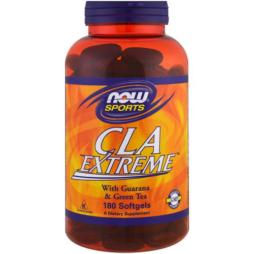 Now Foods, Sports, CLA Extreme, 180 Softgels فوائد