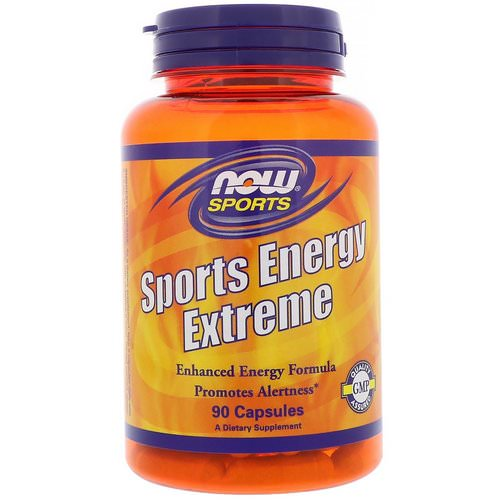 Now Foods, Sports Energy Extreme, 90 Capsules فوائد