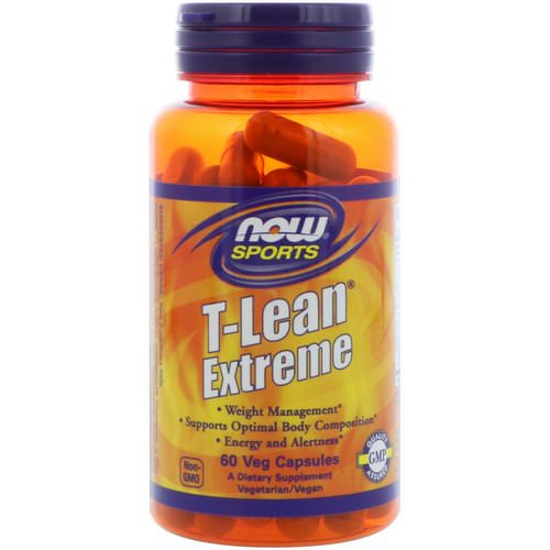 Now Foods, Sports, T-Lean Extreme, 60 Veg Capsules فوائد