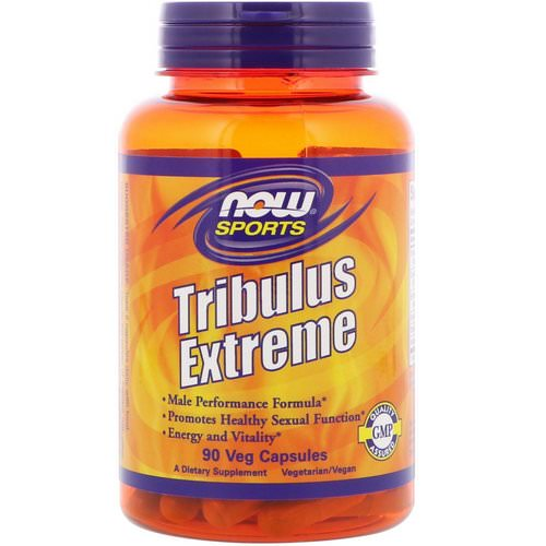 Now Foods, Sports, Tribulus Extreme, 90 Veg Capsules فوائد
