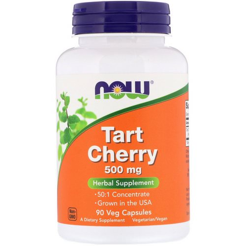 Now Foods, Tart Cherry, 500 mg, 90 Veg Capsules فوائد