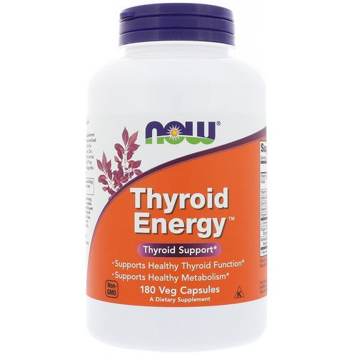 Now Foods, Thyroid Energy, 180 Veg Capsules فوائد