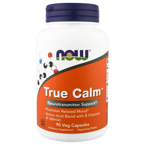 Now Foods, True Calm, 90 Veggie Caps فوائد