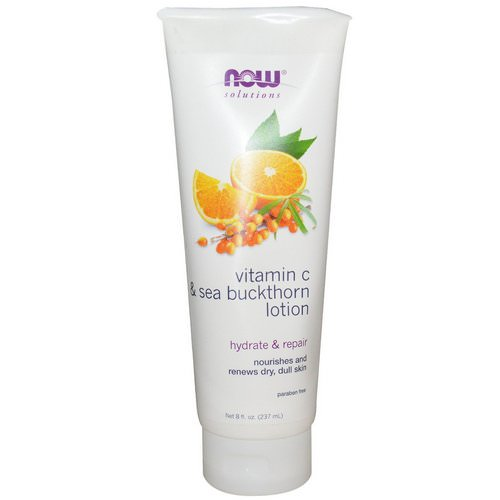 Now Foods, Vitamin C & Sea Buckthorn Lotion, 8 fl oz (237 ml) فوائد