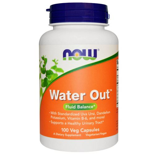 Now Foods, Water Out, Fluid Balance, 100 Veggie Caps فوائد