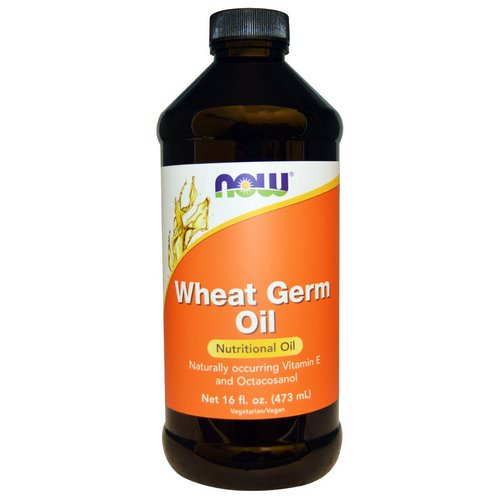 Now Foods, Wheat Germ Oil, 16 fl oz (473 ml) فوائد