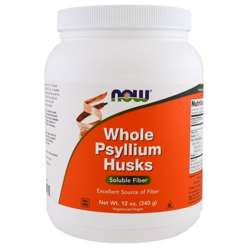 Now Foods, Whole Psyllium Husks, 12 oz (340 g) فوائد