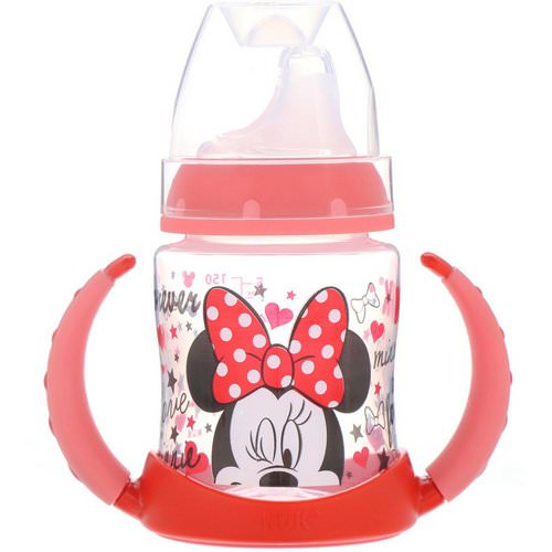 NUK, Disney Baby, Learner Cup, Minnie Mouse, 6+ Months, 1 Cup, 5 oz (150 ml) فوائد