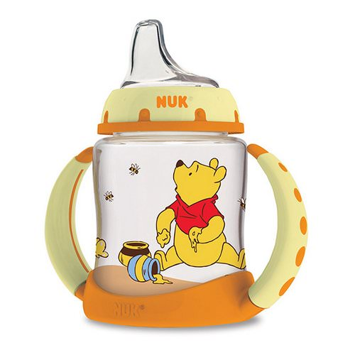 NUK, Disney Baby, Winnie The Pooh Learner Cup, 6+ Months, 1 Cup, 5 oz (150ml) فوائد