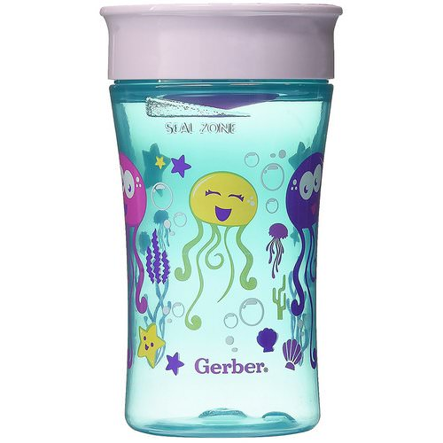 NUK, Magic 360, Magical Spoutless Cup, 12+ Months, Girl, 1 Cup, 10 oz (300 ml) فوائد
