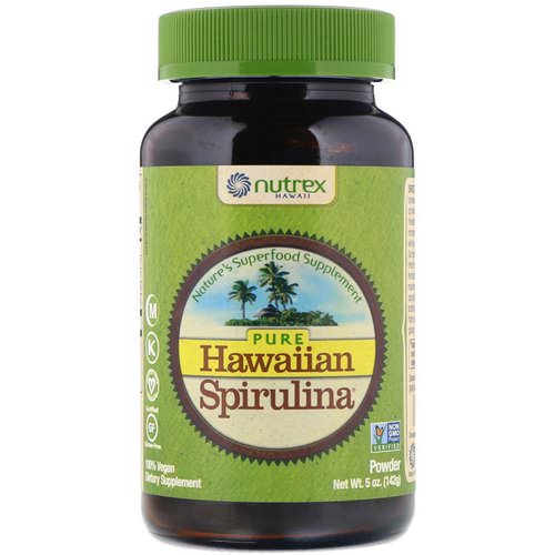 Nutrex Hawaii, Pure Hawaiian Spirulina, Powder, 5 oz (142 g) فوائد