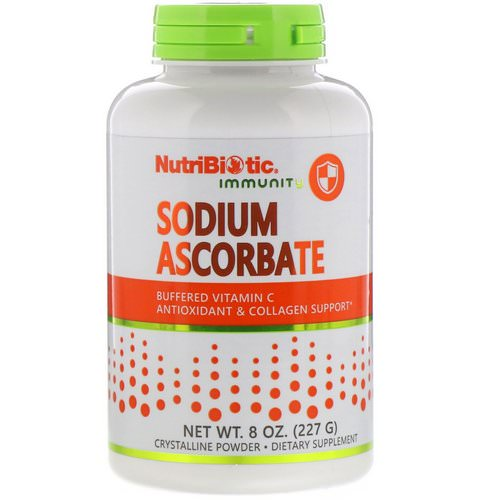 NutriBiotic, Immunity, Sodium Ascorbate, Crystalline Powder, 8 oz (227 g) فوائد