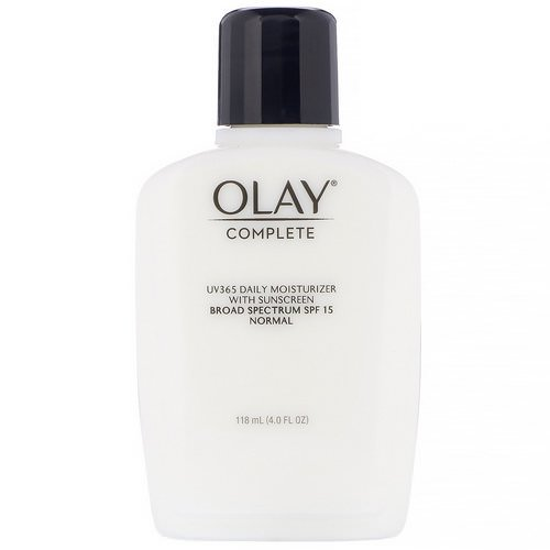 Olay, Complete, UV365 Daily Moisturizer, SPF 15, Normal, 4.0 fl oz (118 ml) فوائد