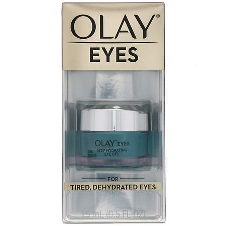 Olay, Eyes, Deep Hydrating Eye Gel, .5 fl oz (15 ml):العلاجات, كريم العين