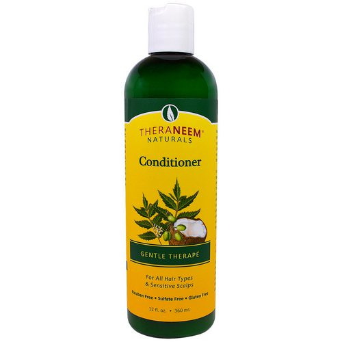 Organix South, Theraneem Naturals, Gentle Therape, Conditioner, 12 fl oz (360 ml) فوائد